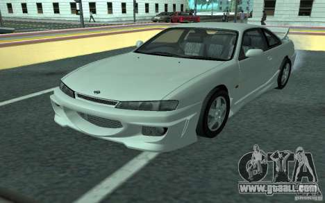 Nissan 200SX for GTA San Andreas upper view