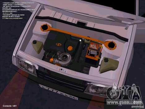 VAZ 2109 for GTA San Andreas upper view