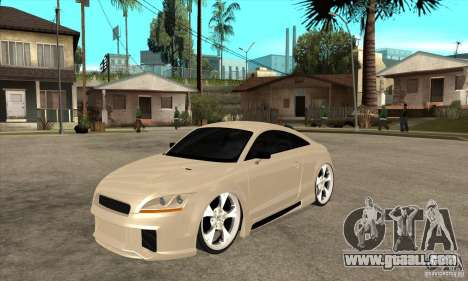 Audi TT Quattro 2007 for GTA San Andreas