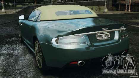 Aston Martin DBS Volante [Final] for GTA 4 back left view