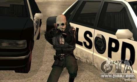 Police Man for GTA San Andreas fifth screenshot