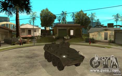 APCS of COD MW2 for GTA San Andreas inner view