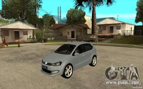 Volkswagen Polo 2011 for GTA San Andreas