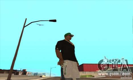 WEAPON BY SWORD for GTA San Andreas