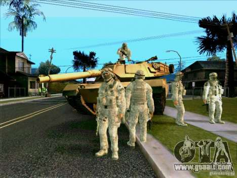 Electronic camouflage Morpeh for GTA San Andreas forth screenshot