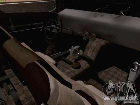 Ford Pickup Ratrod 1936 for GTA San Andreas inner view