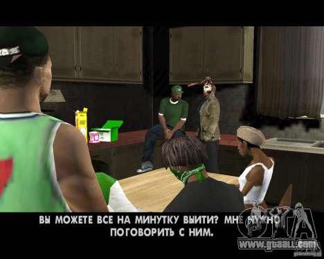 Jason Voorhees for GTA San Andreas tenth screenshot