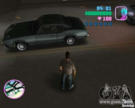 New Sabre for GTA Vice City left view