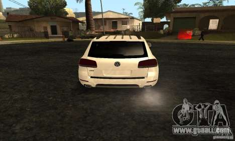 Volkswagen Touareg Dag Style for GTA San Andreas back left view
