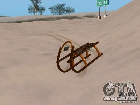 Sledge v2 for GTA San Andreas left view
