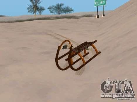 Sledge v2 for GTA San Andreas left view