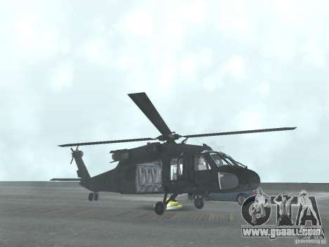 The helicopter from CoD 4 MW for GTA San Andreas