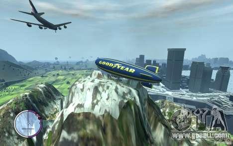 Airship for GTA 4 inner view
