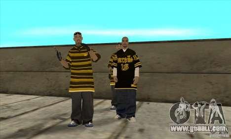 Replace all skins Los Santos Vagos Gang for GTA San Andreas forth screenshot