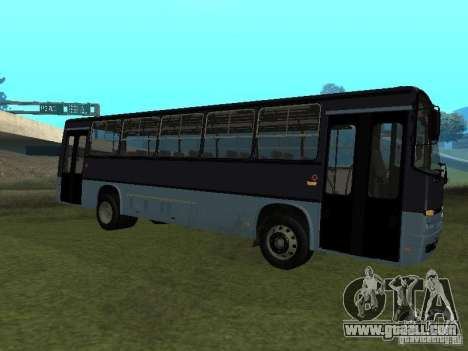 Ikarus C60 for GTA San Andreas back left view