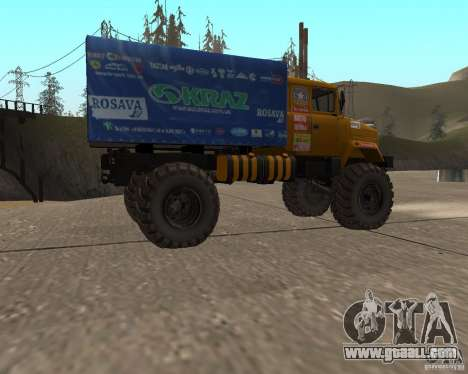 Kraz Monster for GTA San Andreas left view