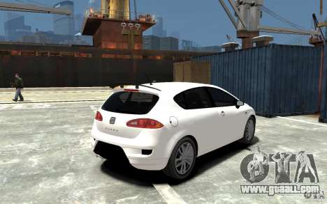 Seat Leon Cupra Light Tuning for GTA 4 right view
