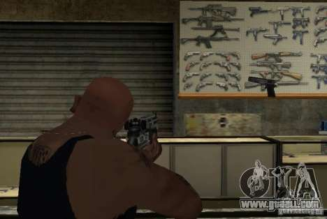 M14 EBR from the Killing Floor for GTA San Andreas forth screenshot