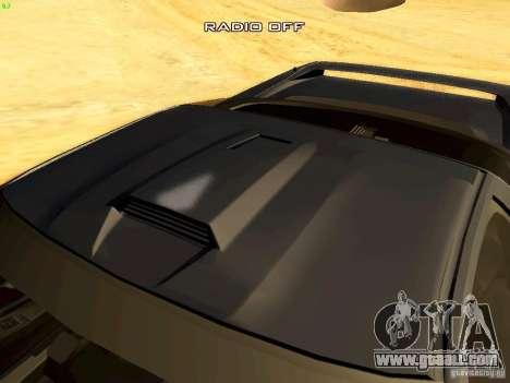 Honda NSX Custom for GTA San Andreas