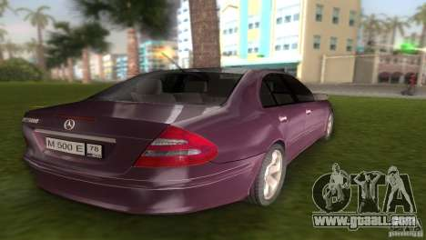 Mercedes E-class E500 for GTA Vice City back left view