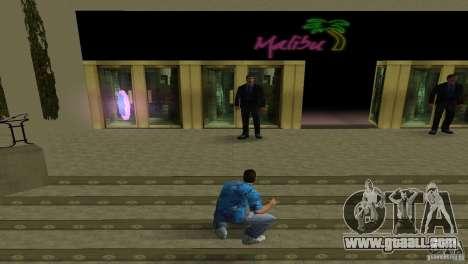 New textures Club Malibu for GTA Vice City third screenshot