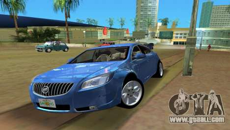 Buick Regal for GTA Vice City back left view