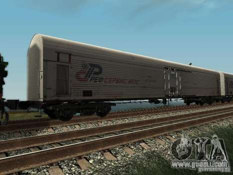 Refrežiratornyj wagon Dessau No. 2 for GTA San Andreas