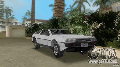 DeLorean for GTA Vice City