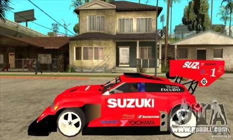 Suzuki Escudo Pikes Peak V2.0 for GTA San Andreas left view