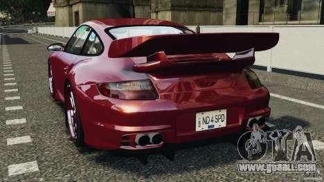 Porsche 997 GT2 Body Kit 1 for GTA 4 back left view