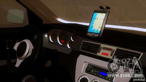 Mitsubishi Lancer Evolution IIIV for GTA San Andreas back view
