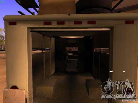 Monster Van for GTA San Andreas inner view