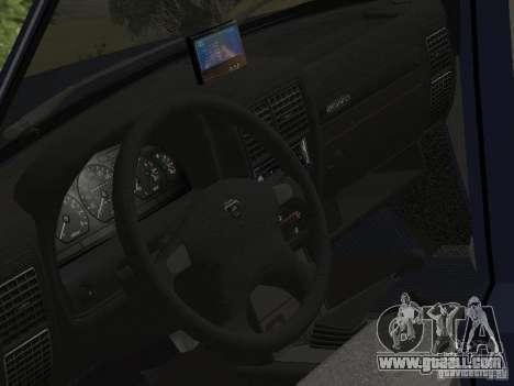 Gaz Volga 310221 for GTA San Andreas back left view
