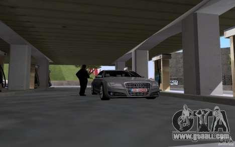 Tanker car at gas station for GTA San Andreas