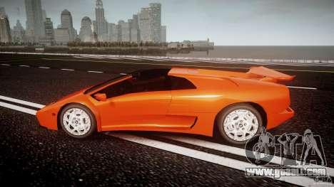 Lamborghini Diablo 6.0 VT for GTA 4 left view