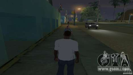 t-shirt is a Troll face for GTA San Andreas second screenshot