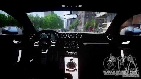 Audi TT RS 2010 for GTA 4 left view