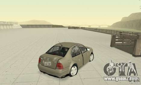 Volkswagen Bora Stock for GTA San Andreas side view