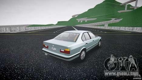 BMW 535i E34 for GTA 4 inner view