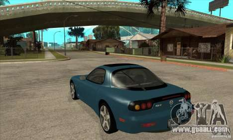 Mazda RX-7 - Stock for GTA San Andreas back left view