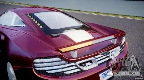 McLaren MP4-12C [EPM] for GTA 4 bottom view