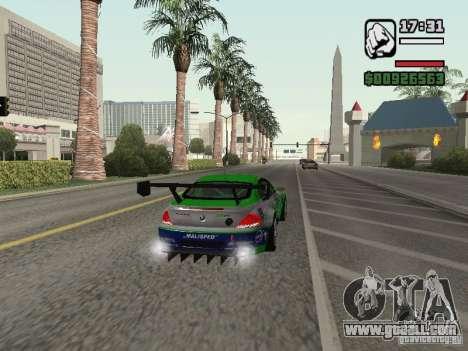 Alpina B6 GT3 for GTA San Andreas back view