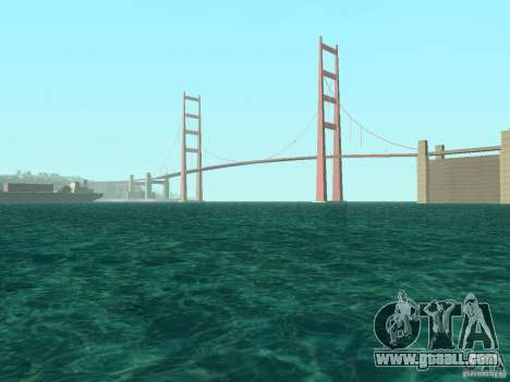 New textures water and smoke for GTA San Andreas