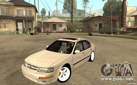 Nissan Maxima 1998 for GTA San Andreas