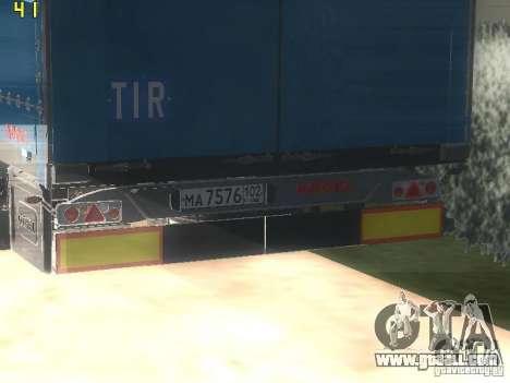 Nefaz-93341 trailer-10-07 for GTA San Andreas right view