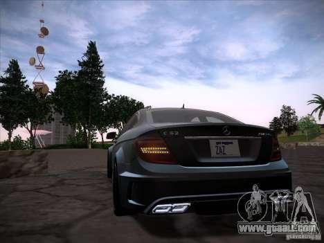 Improved Vehicle Lights Mod for GTA San Andreas third screenshot