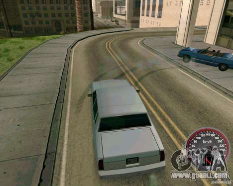 New speedometer for GTA San Andreas second screenshot