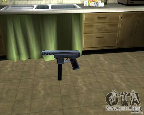 Tec 9 (HQ) for GTA San Andreas