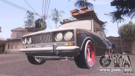 VAZ 2106 Tuning Rat Style for GTA San Andreas