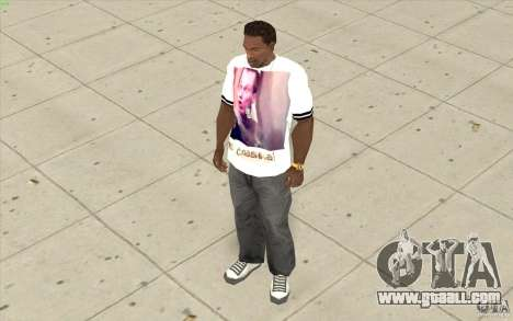 T-shirt: Exuberant Slavik for GTA San Andreas third screenshot